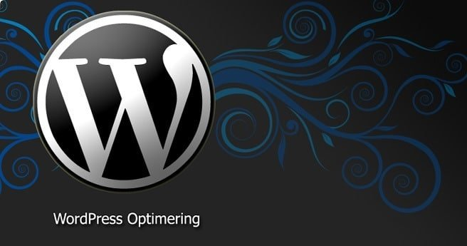 wordpress optimering