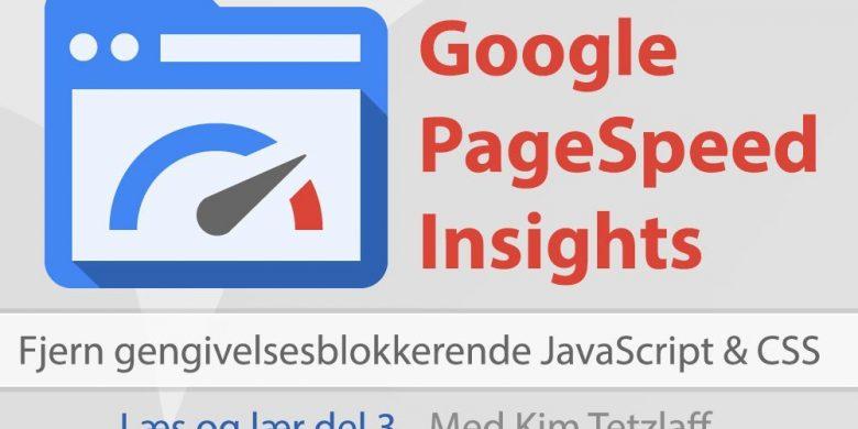 fjern gengivelsesblokkerende javascript css google pagespeed insights del 3