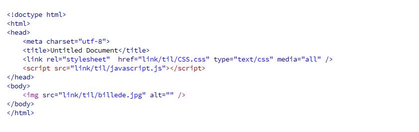 html-eksempel
