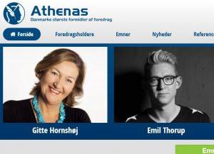 Athenas - Danmarks største formidler af foredrag