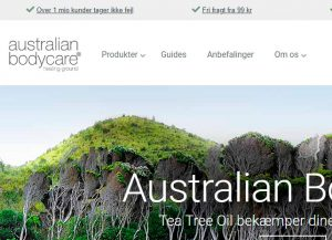 Australian Bodycare - tea tree oil