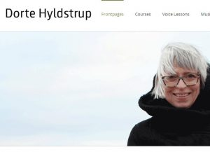 Dorte Hyldstrup - Singer and voice teacher