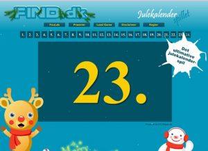 Find julekalender spil