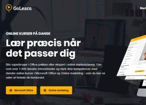 GoLearn - online kurser på dansk