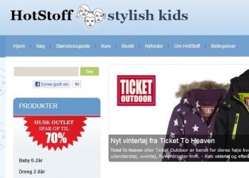 hotstoff stylish kids