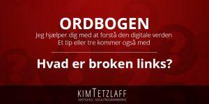 Hvad er broken links?