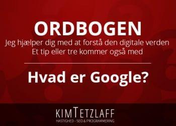 hvad er google