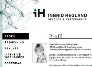 iH - Ingrid Hegland - Sexolog og parterapeut