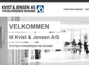 Kvist & Jensen AS - Statsautoriserede Revisorer