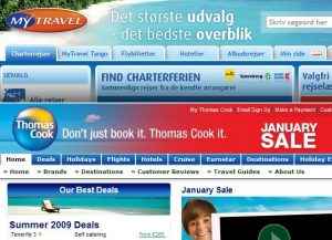 mytravel / Thomas cook