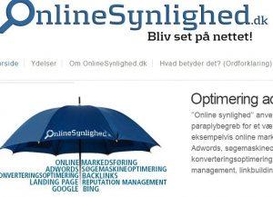 Online Synlighed - Bliv set på nettet