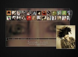 Sisse Julin - Stylist og makeupartist