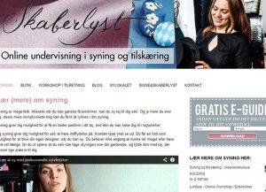 Skaberlyst - Online undervisning i syning og tilskæring