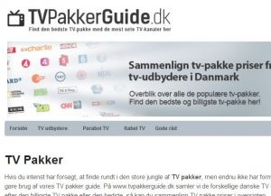 TV Pakker Guide
