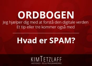 hvad er spam hvad er en spammer