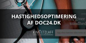 doc24.dk hjemmeside skal være hurtigere