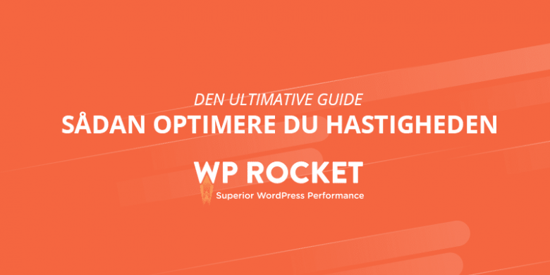wp rocket hastighedsoptimering